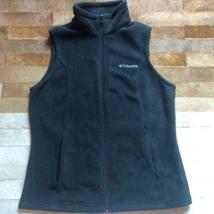 Black Fleece Vest From Columbia